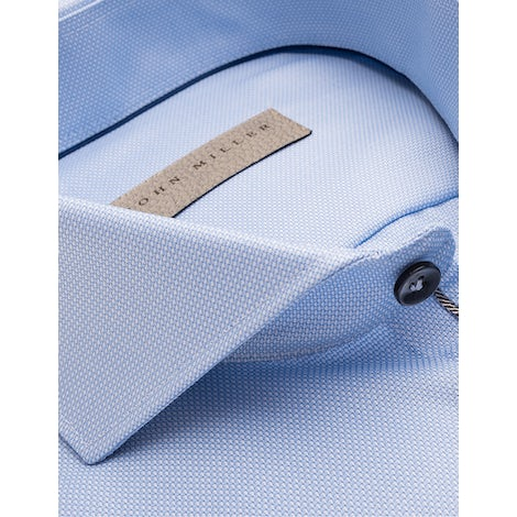 Light blue non iron tailored fit shirt with extra long sleeves 5138226-130-285-000