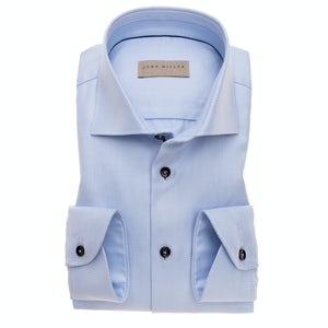 Intense blue two ply tailored fit shirt 5138337-130-130-190