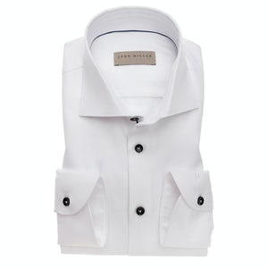 White two ply tailored fit shirt 5138337-910-910-190
