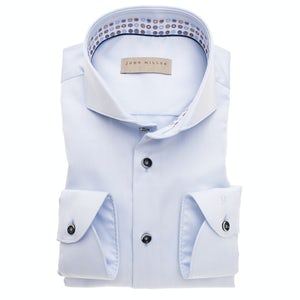Light blue non-iron tailored fit shirt 5138465-120-450-120