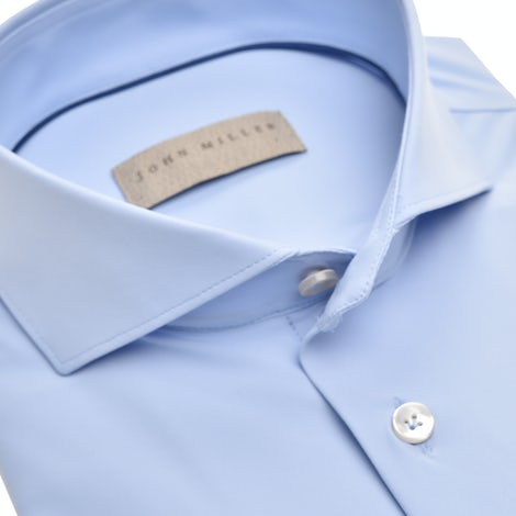 Light blue hyperstretch slim fit shirt 5138705-130-000-000