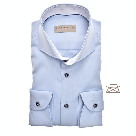 Light blue non-iron tailored fit shirt 5138898-130-916-130
