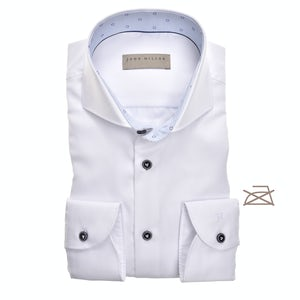 White non-iron tailored fit shirt 5138898-910-915-910