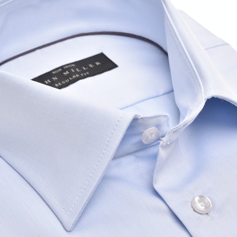 Light blue non-iron regular fit shirt 5315501-110-000-000