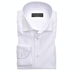 White tailored fit shirt 5333510-910-000-000