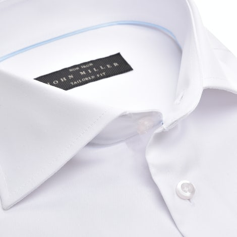 White non-iron tailored fit shirt 5333511-910-000-000