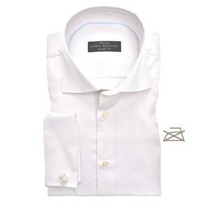 Off-white non-iron tailored fit shirt 5333581-930-000-000