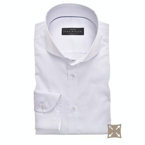 White stretch slim fit shirt 5346512-910-000-000